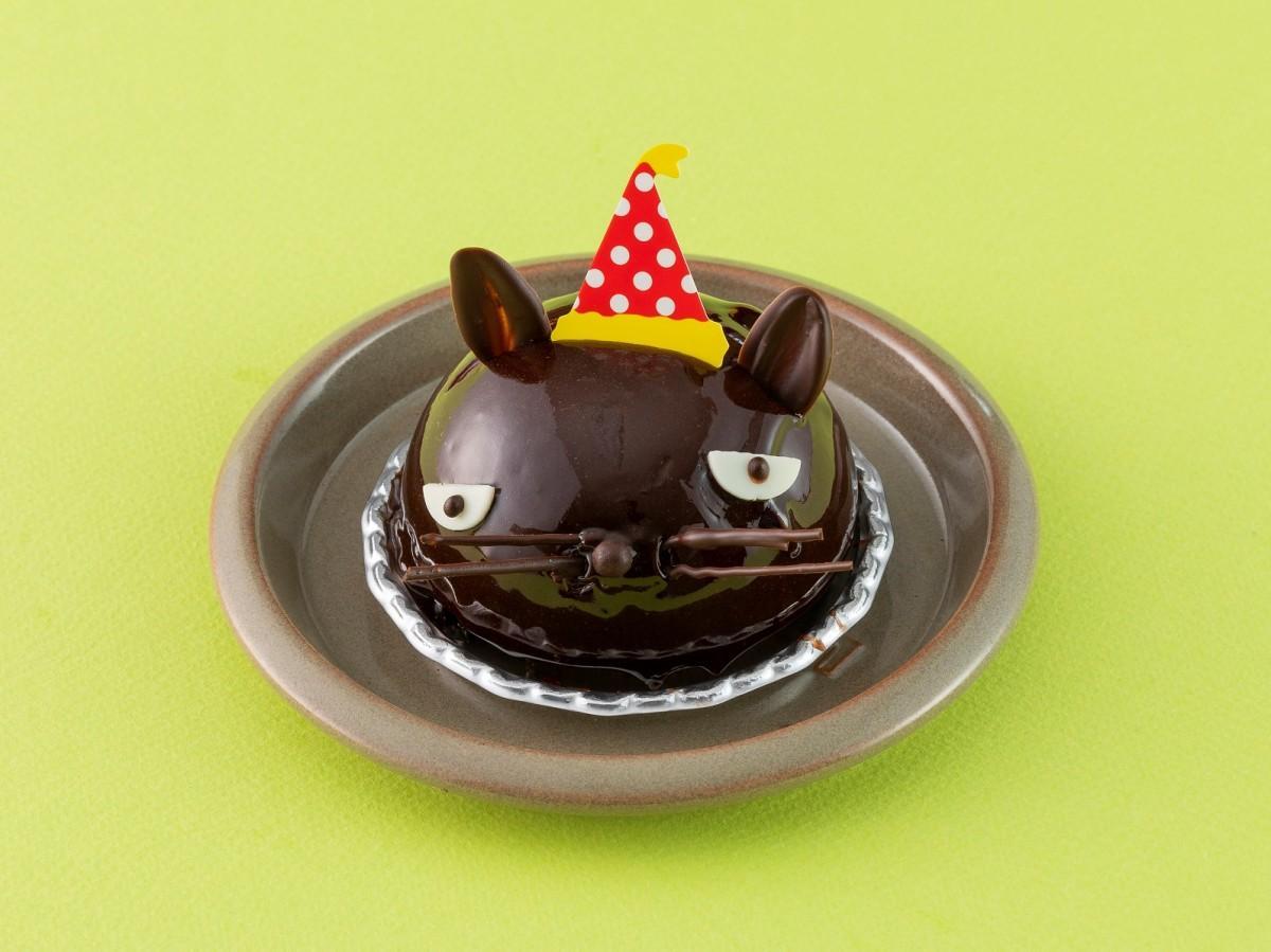猫の顔型のチョコレートムース「ミネット」(508円)/キャトルキャール