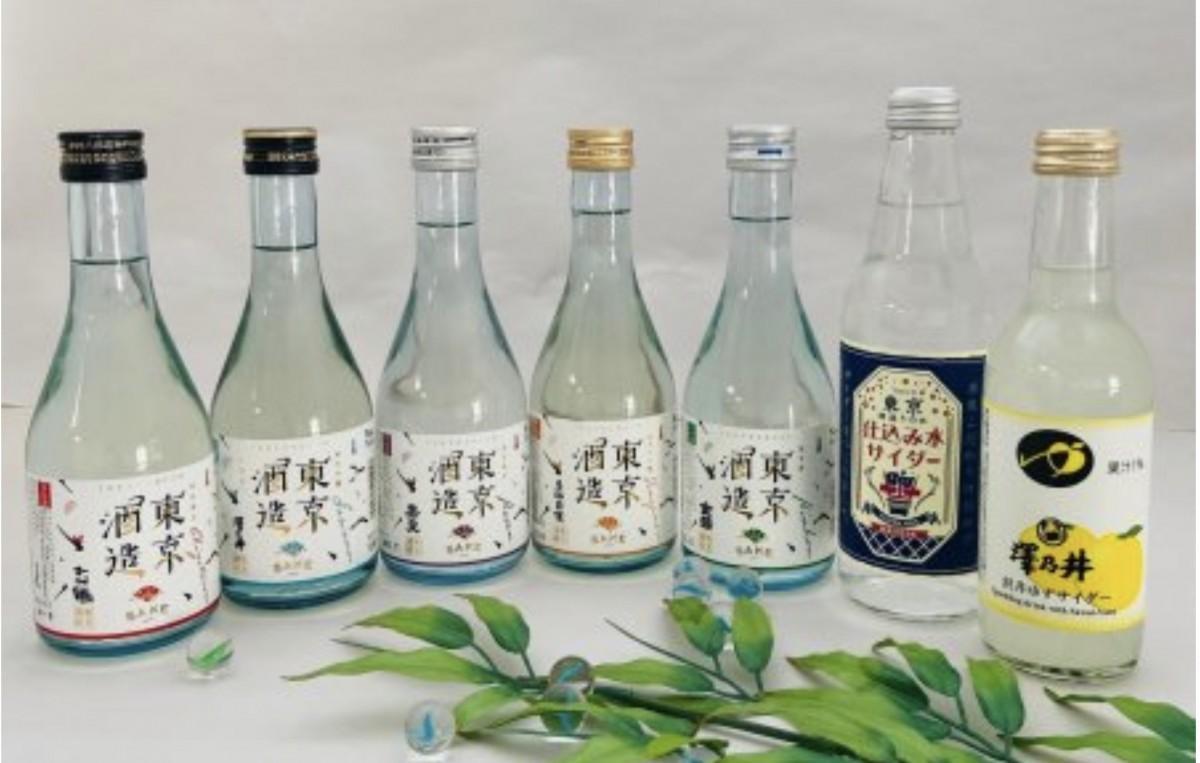 東京の地酒と酒蔵サイダーをセットにした「東京地酒~夏の福袋」