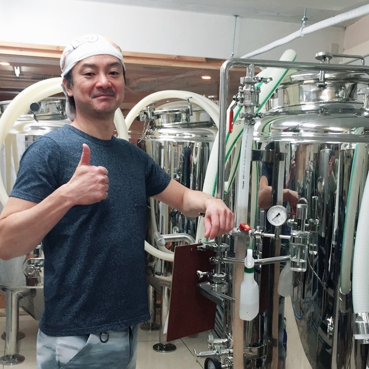 d23c416c4a51 (立川市曙町2、TEL 042-512-9638)が1月17日から、同店オリジナルのクラフトビール「Aromatic Sun San  IPA(アロマティック太陽燦々IPA)」の限定販売を始めた。