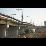 台風で通行止めの日野橋で復旧工事始まる 梅雨前の交通開放目指す