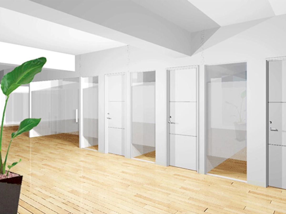 リニューアルオープンした「BAレンタルオフィス台湾」のイメージ