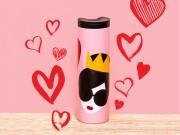 台湾スタバがバレンタイン限定商品 NYファッションブランドとコラボ