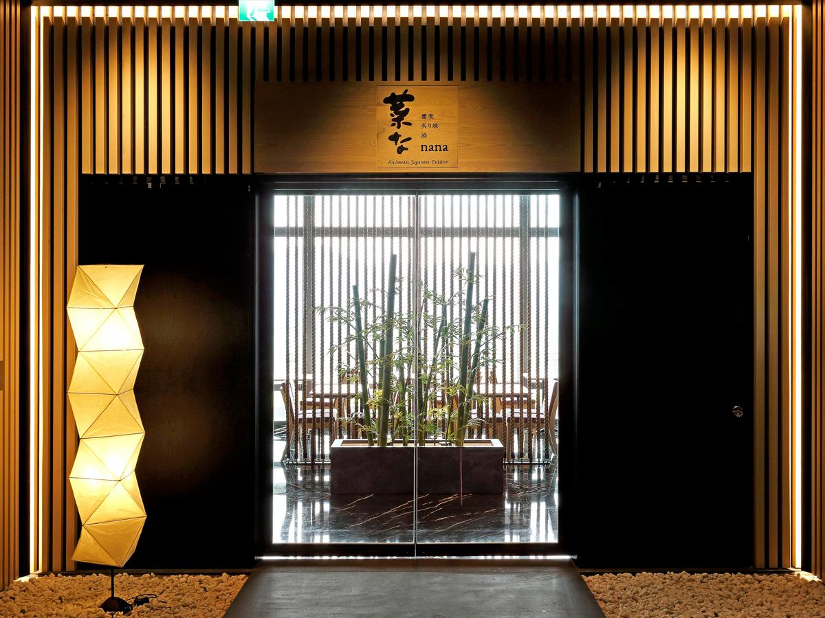 台北「微風信義」45階に出店している「菜な」