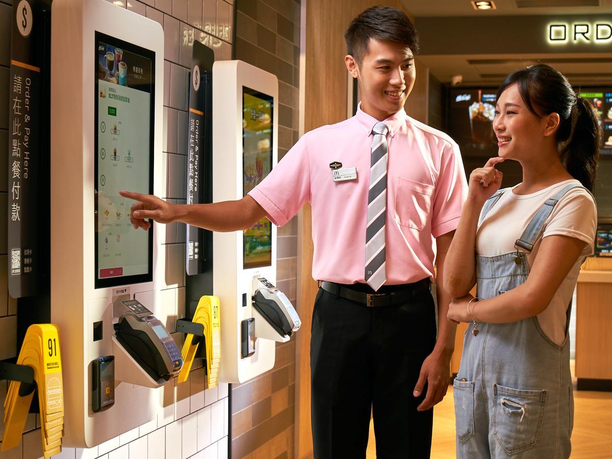 台湾でオープンした次世代型マクドナルド「マクドナルド台北昆明店」