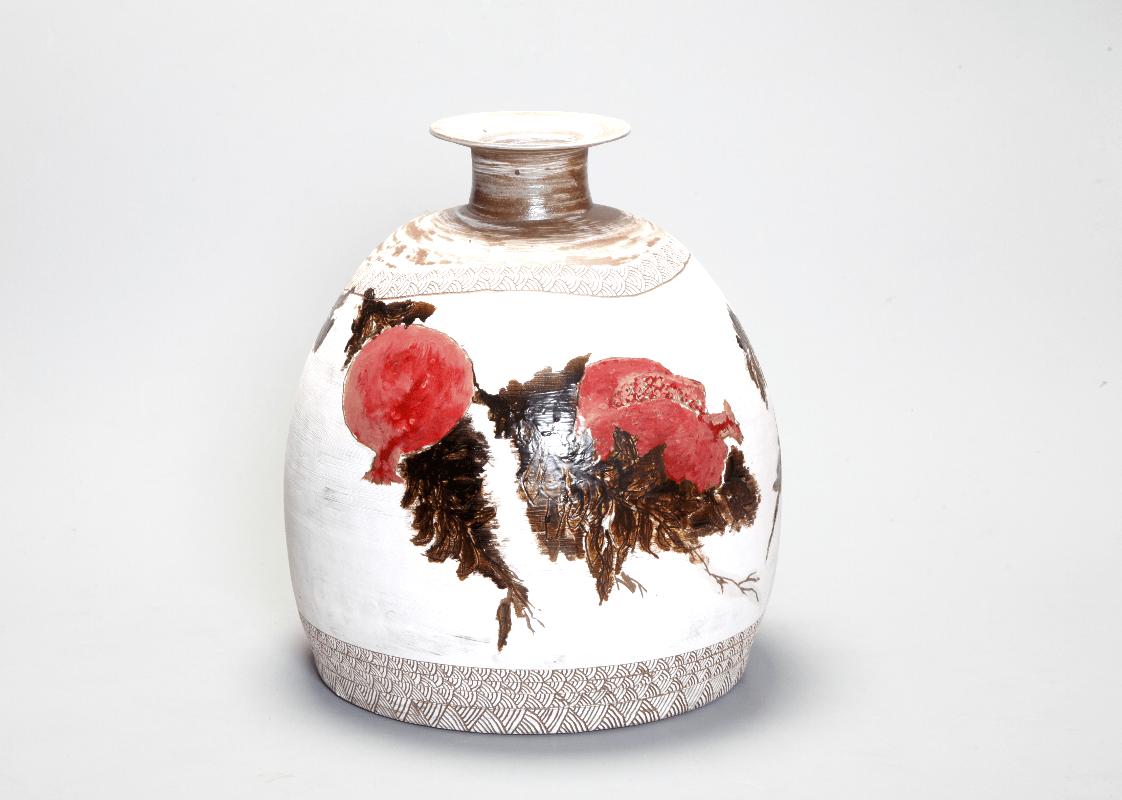 「西郷菊次郎」没後90年記念展で展示予定の薩摩焼