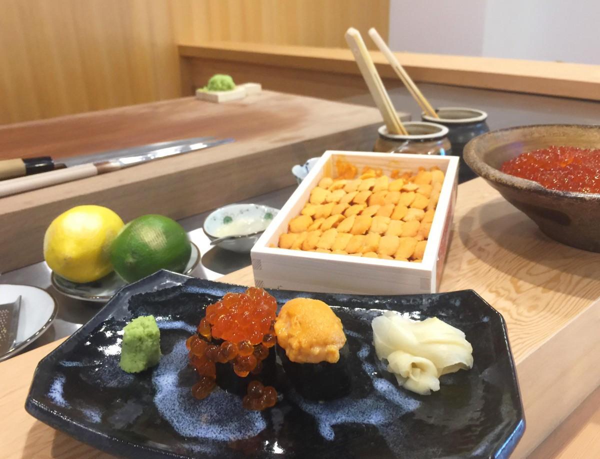 国父記念館向かいに9月23日にオープンした「平(ひら)寿司」