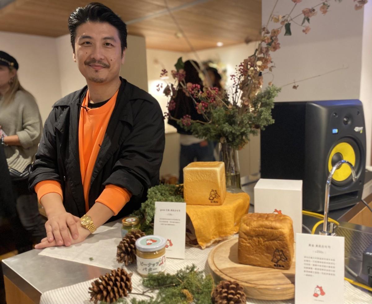 日本で生食パンに魅了されたオーナーの呉羽傑(Jay WU)さん