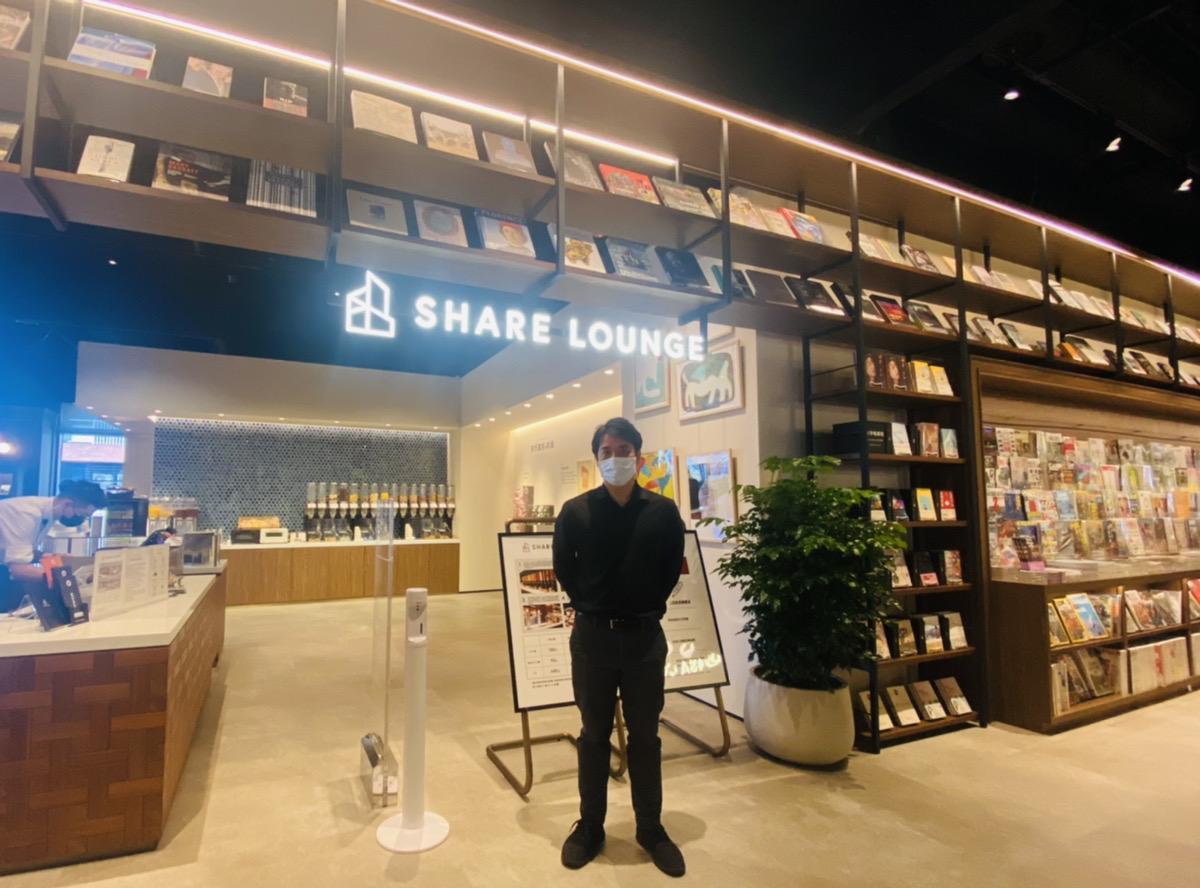 「TSUTAYA BOOKSTORE松山店」刷新 海外初展開「SHARE LOUNGE」併設