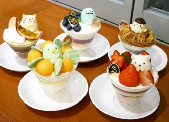 台北の日系ケーキ店「la vie bonbon」、すみっコぐらしコラボのケーキとクッキー発売