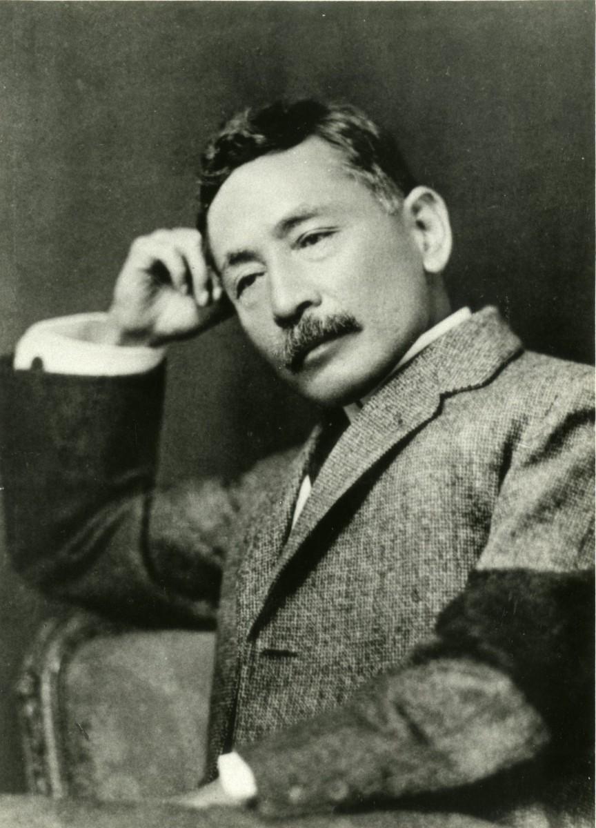 夏目漱石の肖像