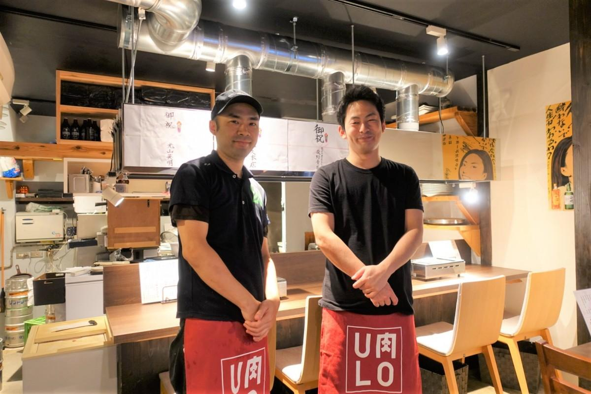 櫻川大地店長とスタッフ