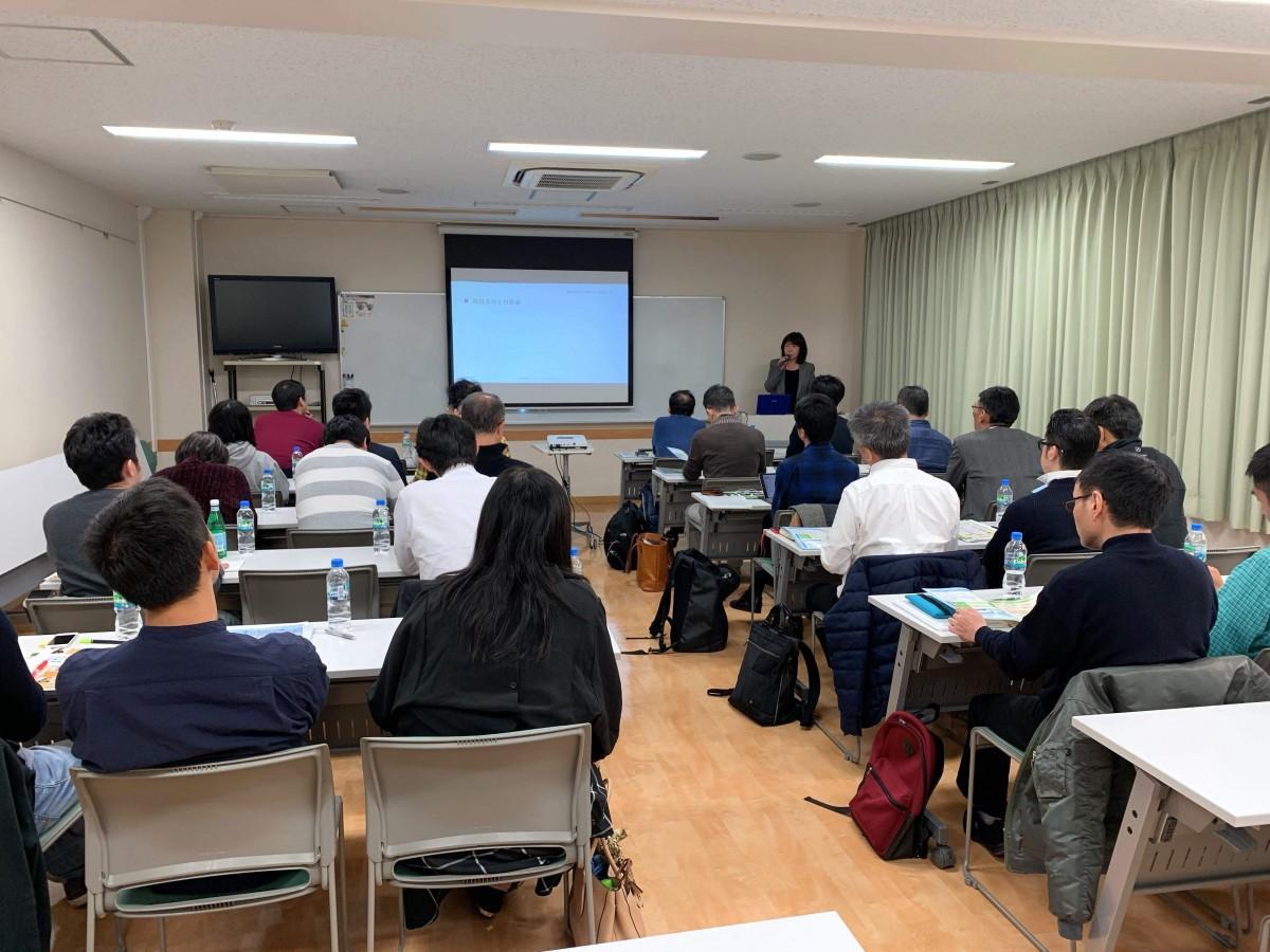 高田馬場創業支援センターで過去に開催された創業セミナーの様子