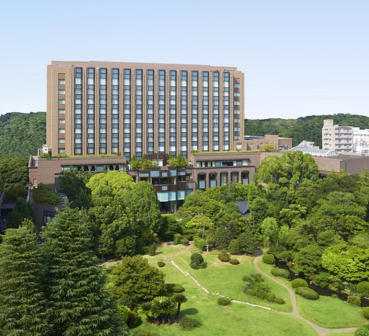 4月1日から全客室が禁煙となるリーガロイヤルホテル東京の外観