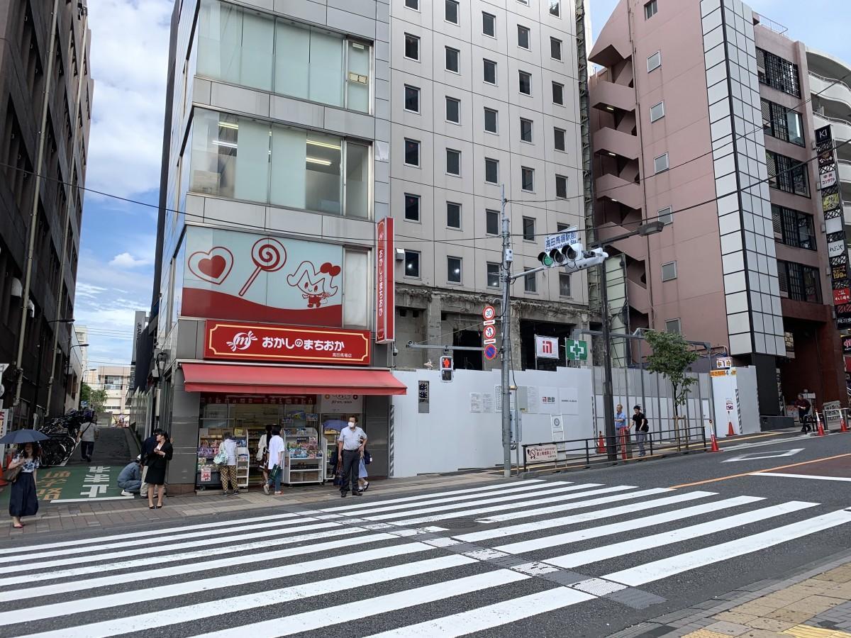 7月21日に閉店する「おかしのまちおか 高田馬場店」