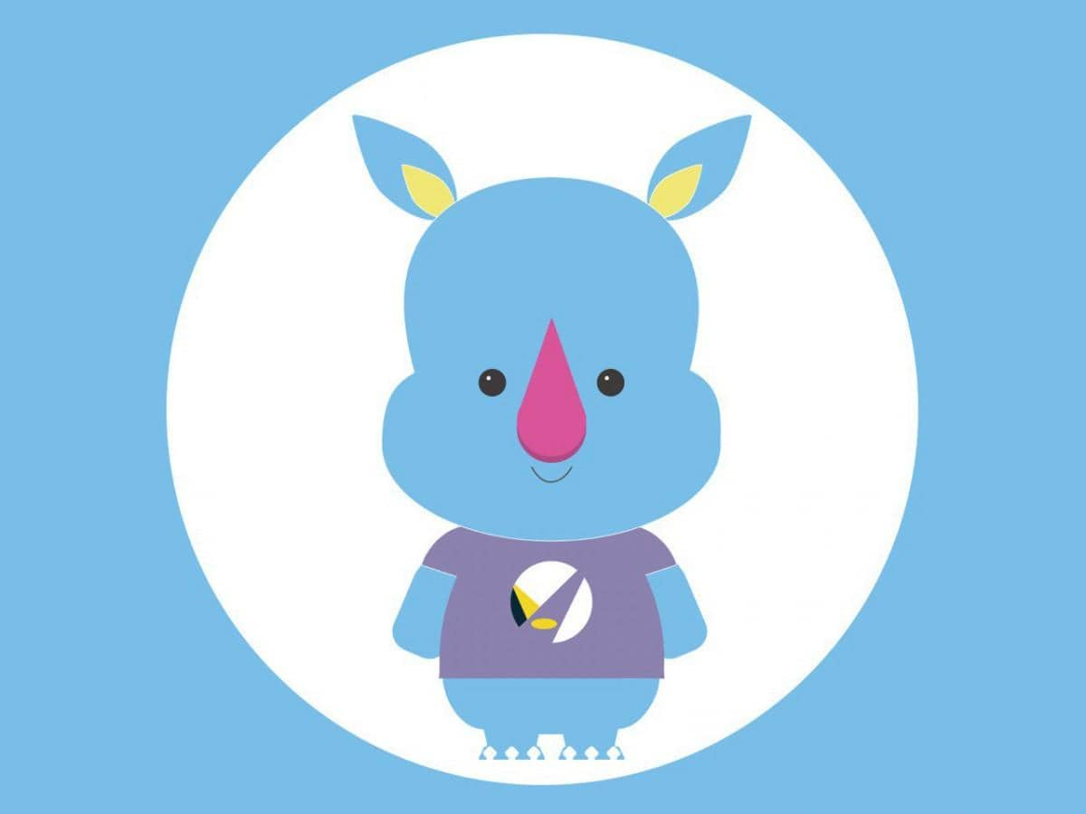 早稲田祭2019公式マスコットキャラクターの「わせだサイくん」
