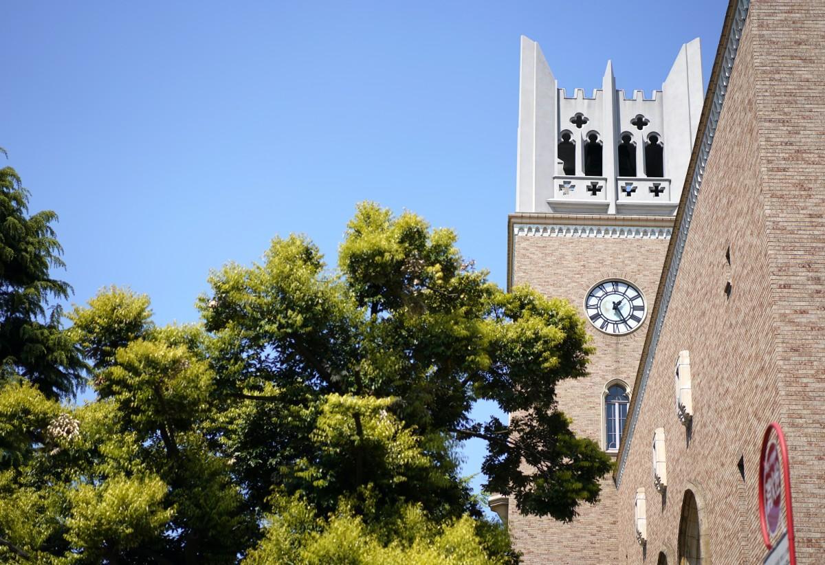 早稲田大学の「大隈記念講堂」