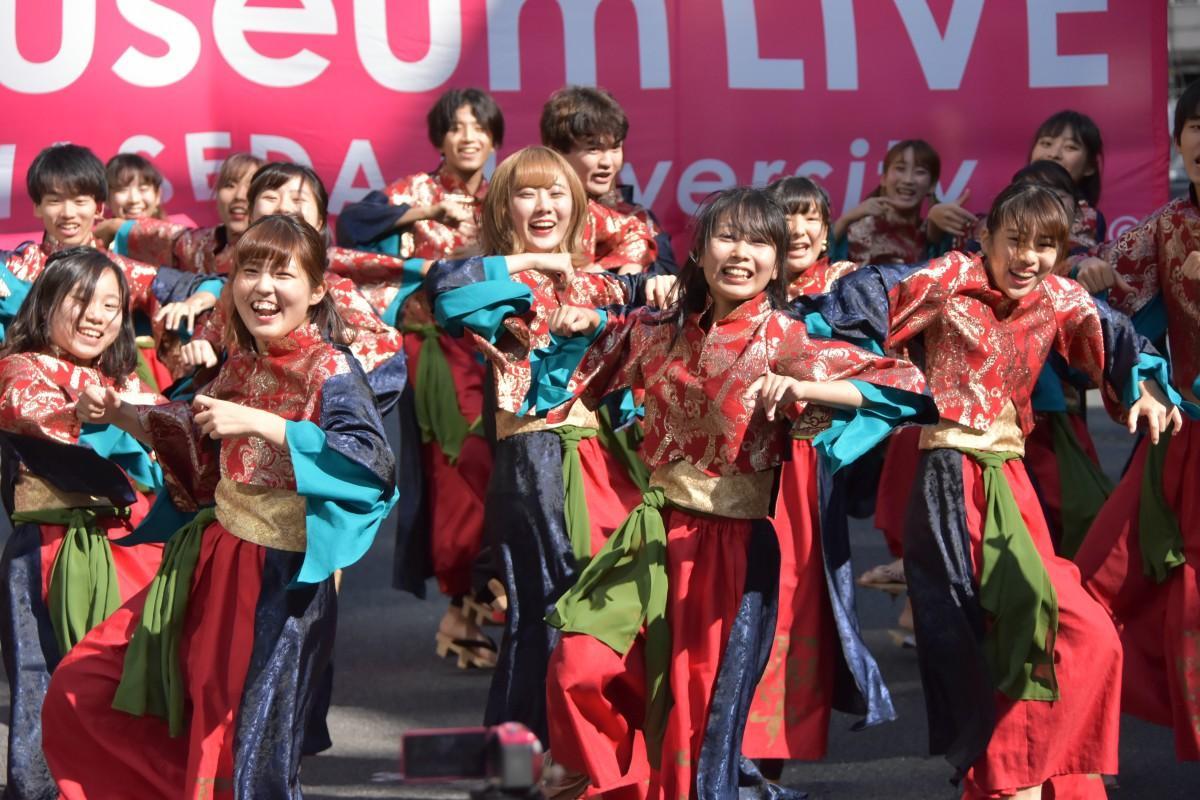 昨年、早稲田キャンパスで開催した「Museum LIVE」の様子(提供:早稲田大学文化企画課)