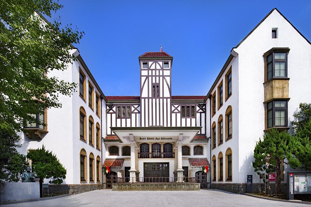 早稲田大学演劇博物館外観(提供:早稲田大学演劇博物館)