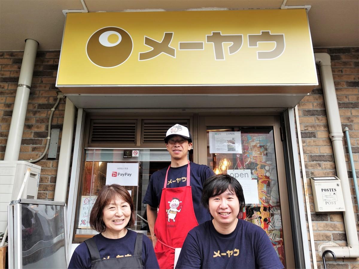高橋忍さん(左)、高岡豊さん(中央)、高師雅一さん(右)