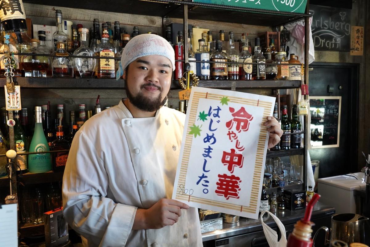 高田馬場の「まっちゃんカレー」の店主・松本翔太さん