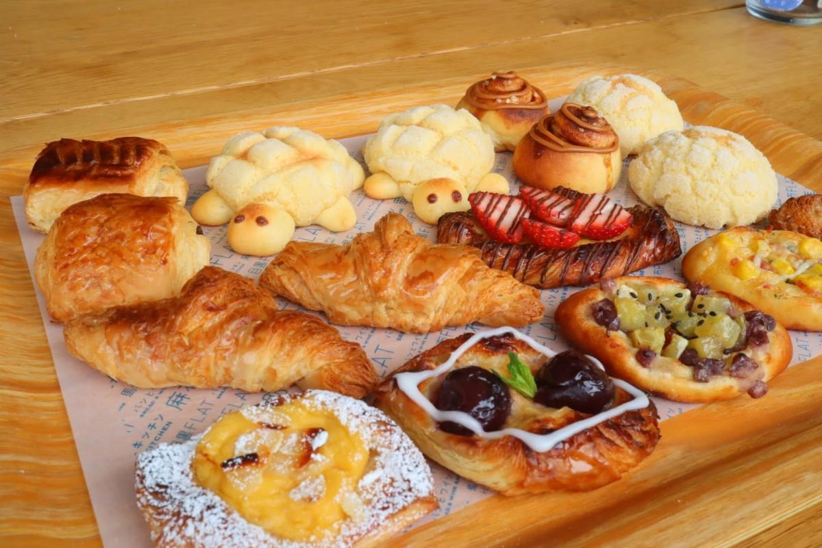 「馬場FLAT」の「おうちで馬場FLAT」で作ったパン