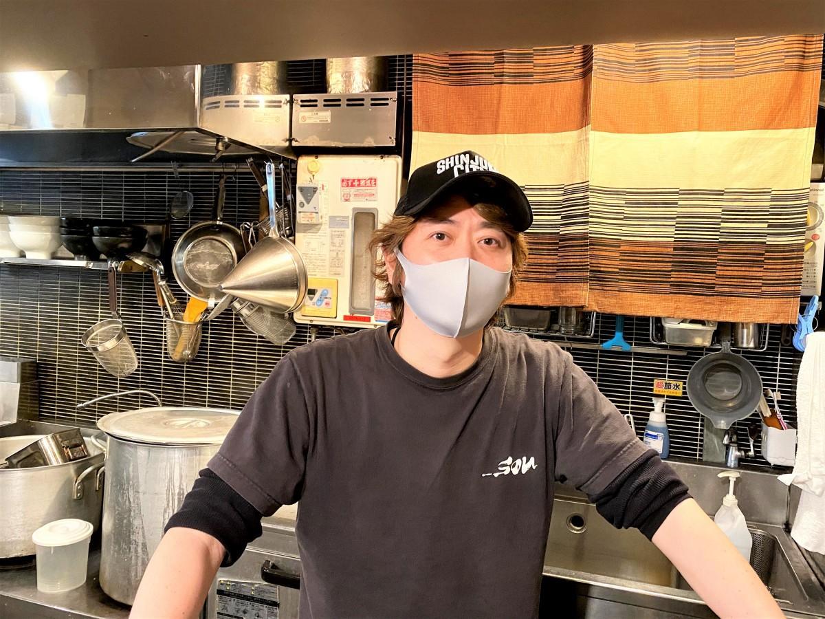 麺屋宗 高田馬場本店 柳宗紀さん