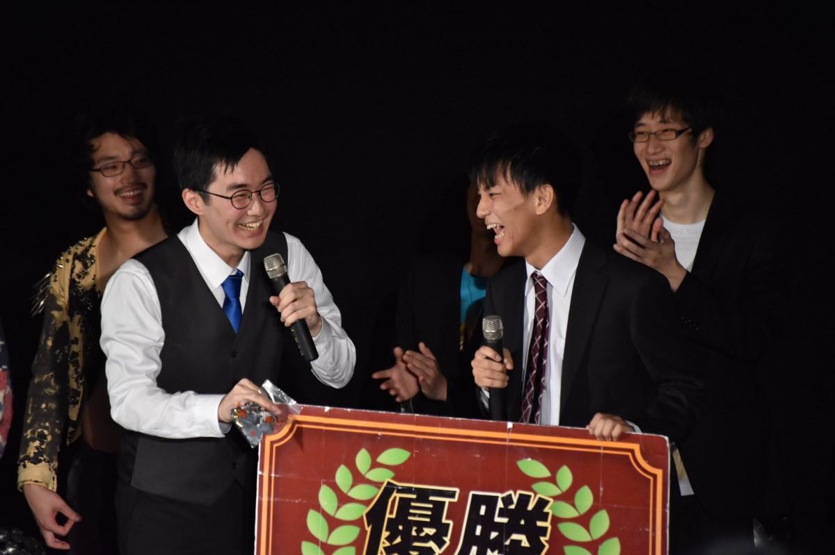 2019年の「大学生M-1ク?ランフ?リ」の様子(提供:早稲田大学放送研究会)