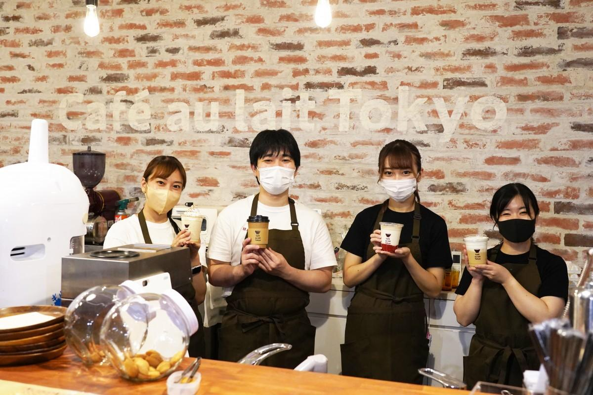 「Café au Lait Tokyo」スタッフの皆さん