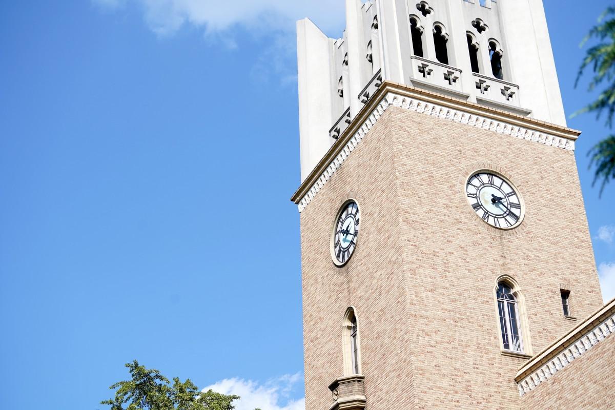 早稲田大学の大隈記念講堂