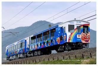 JR四国「瀬戸大橋アンパンマントロッコ」、年内運行は11月まで 瀬戸内海を一望