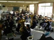 高砂・宝殿中学校吹奏楽部がコンサート 日頃の練習成果を披露