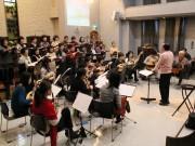 高砂教会でメサイアコンサート 女声合唱とマンドリンアンサンブルでハーモニー