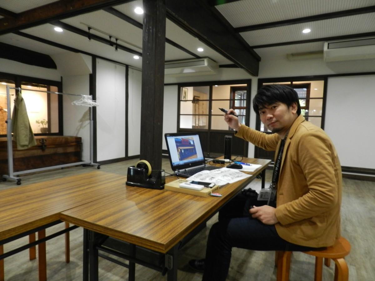 地域の方々が来るのを心待ちにしているプロジェクトリーダーの藤井良一さん