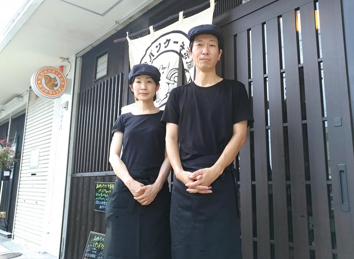 オーナーの大江さん夫妻
