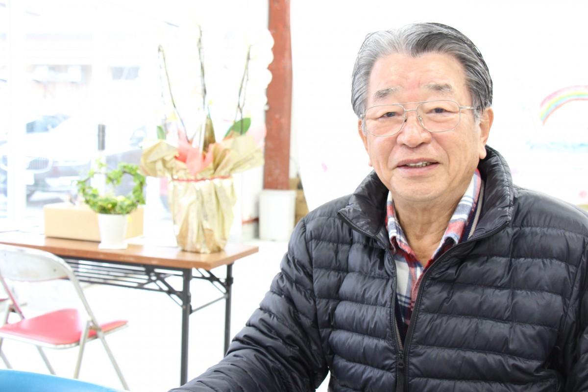 NPO法人堂池地区ため池協議会会長の生嶋洋一さん