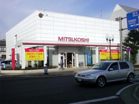 伊勢崎本町のランドマーク的存在だった「三越伊勢崎」。最終日まで開催した「感謝セール」に多くの人が訪れた