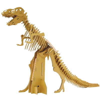 ダンボール王作「ティラノサウルス」(4000×750×2400ミリメートル)