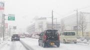 高前エリア大渋滞 「歴史的大雪」経験後初、2年ぶりは「中雪」