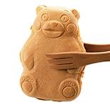 高崎に「くまモン焼き」 大きな人形焼きだモン 「ほんモン」だモン