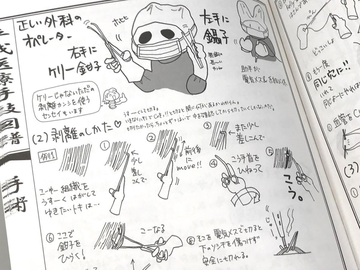 「平成医療手技図譜 手術編改」の「鉗子」