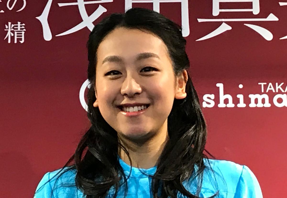 大人の女性の雰囲気になっていた浅田真央さん