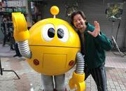 前橋ロケ「幻のCM」サイトで 浅野忠信さん「弁天通り」で