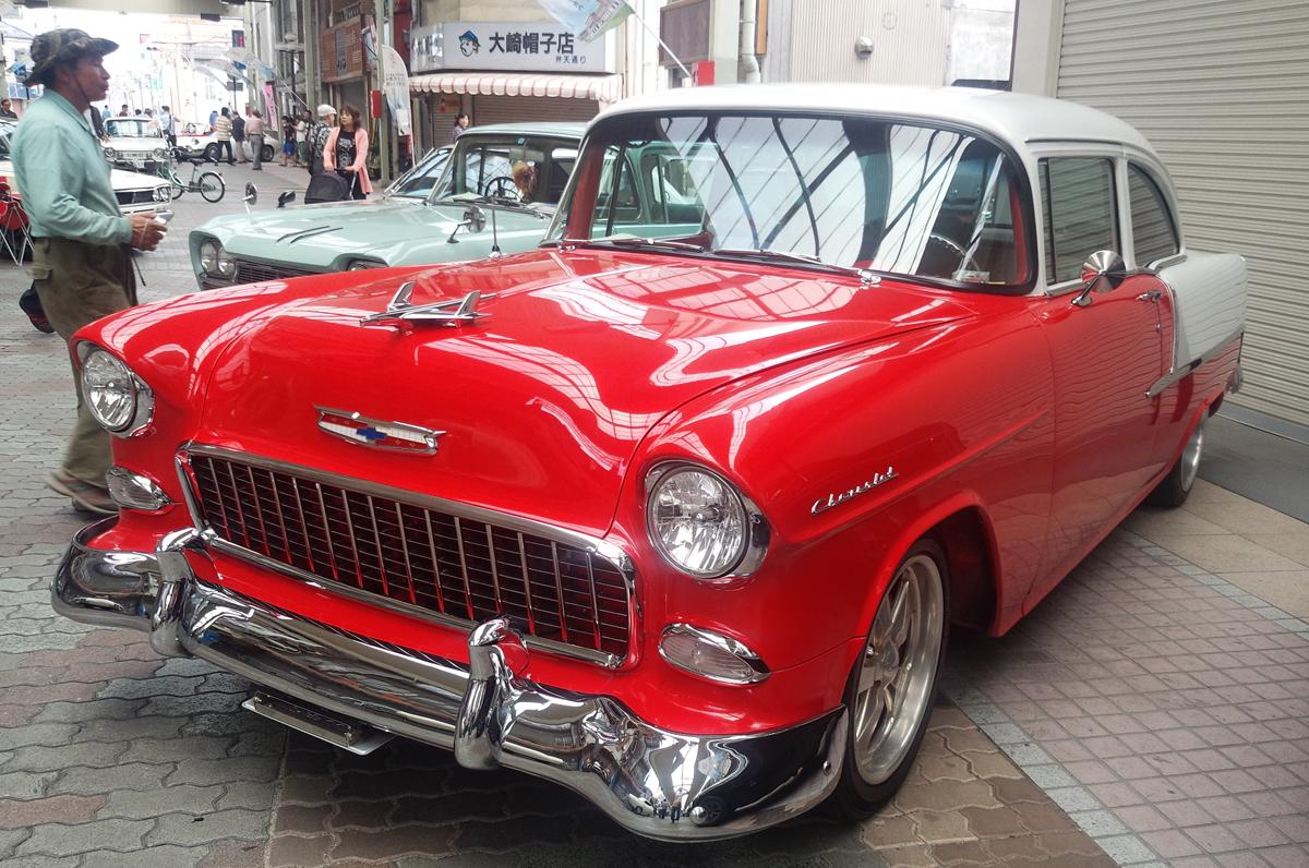 1955年製の「シボレーベルエア」