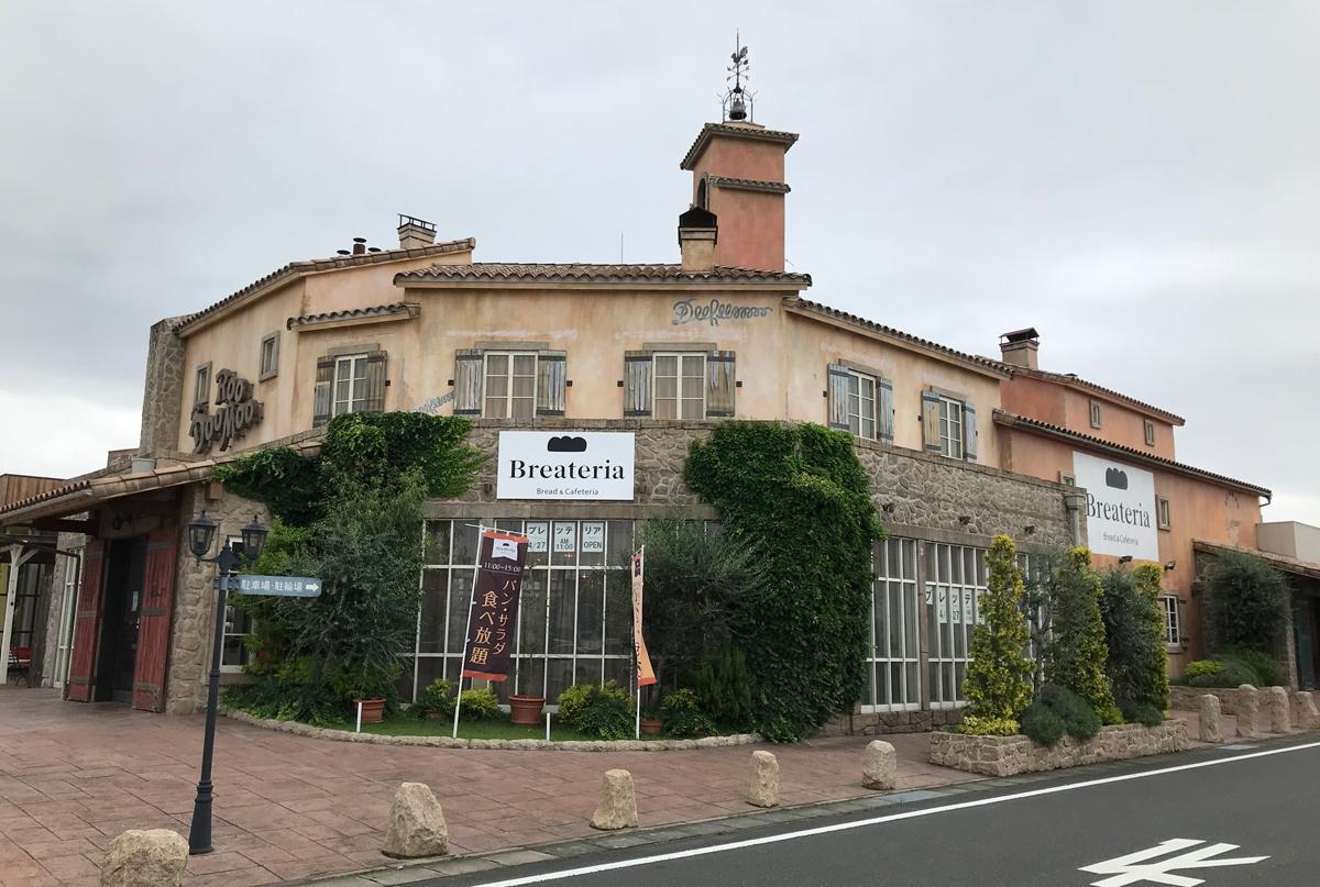 ブレッテリア伊勢崎店はアパレル店「ドゥールームー」の一角に。店舗面積80平方メートル、25席