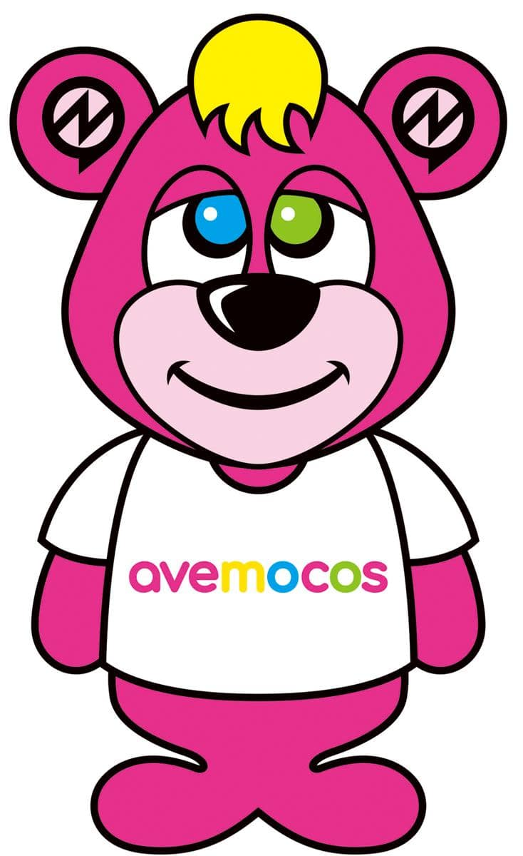 「avemocos(アヴェモコス)」は熊本出身のオス。これはイラスト