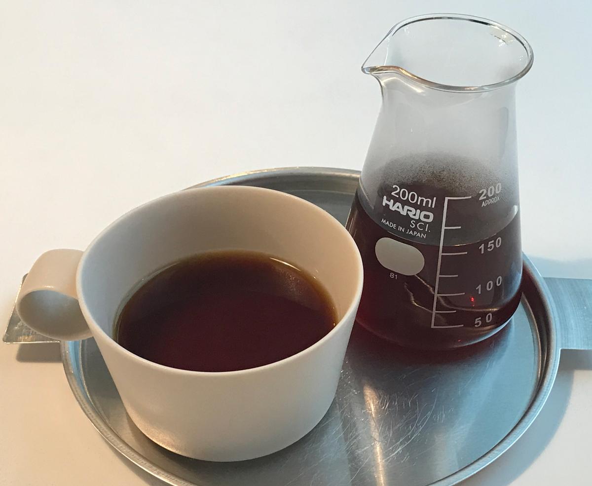 フィルターコーヒー(480円)