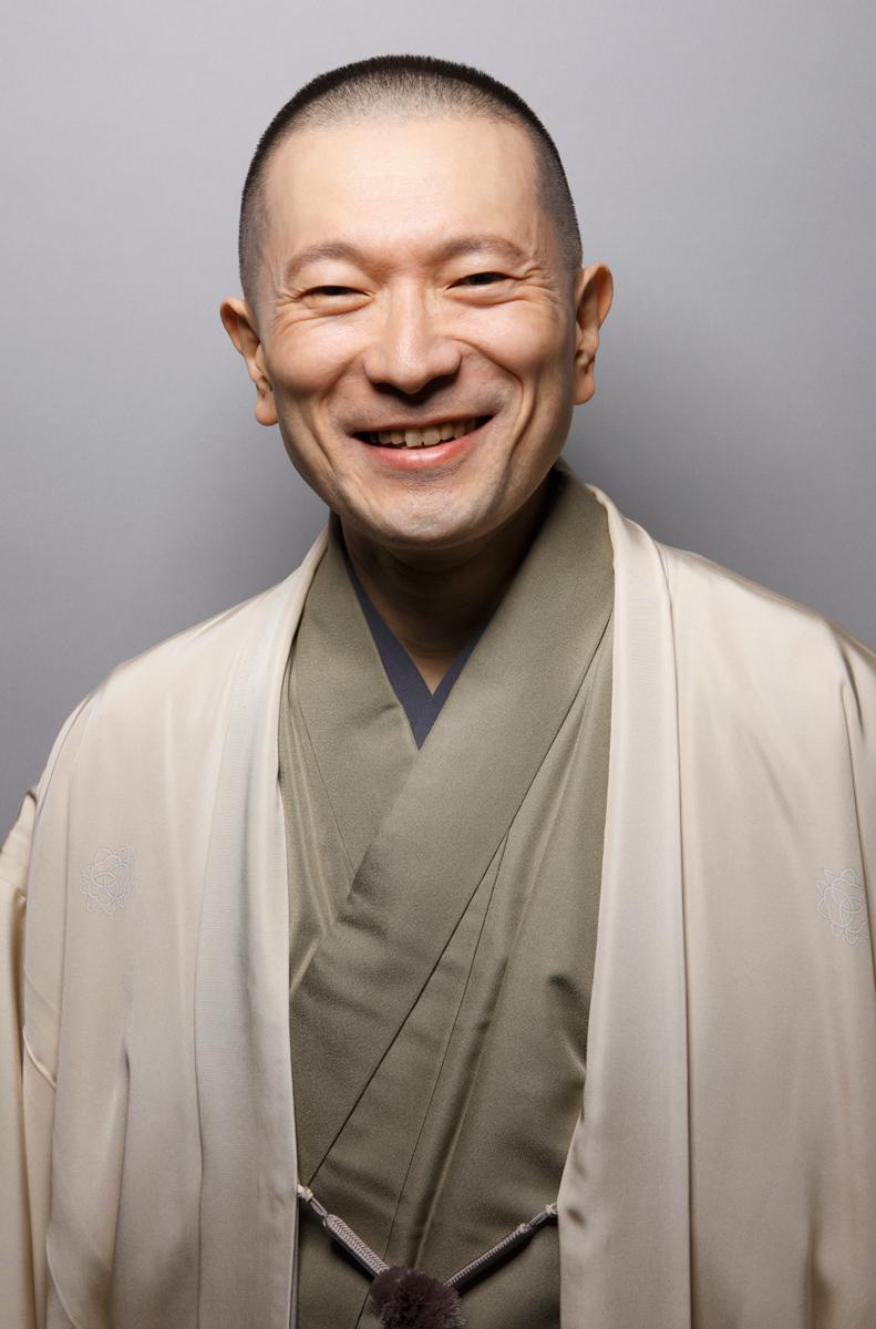 観光大使の三遊亭竜楽さん