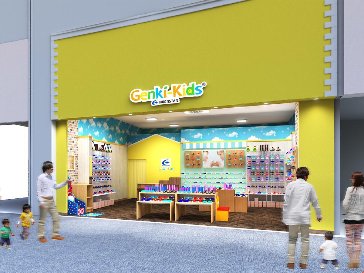 群馬2店舗目はけやきウォーク前橋2階フロア、店舗面積は約25坪