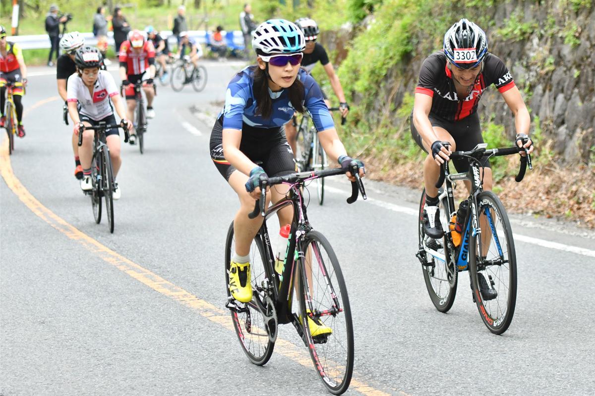 調子の波が激しいと話していた日向涼子さんだが、軽快な走りで自己ベストを更新した