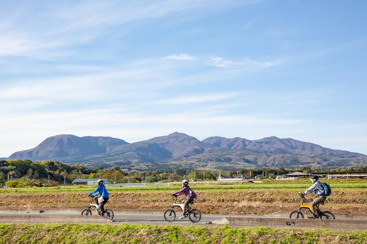 赤城山の新しい交通手段化を目指す「e-Bike」